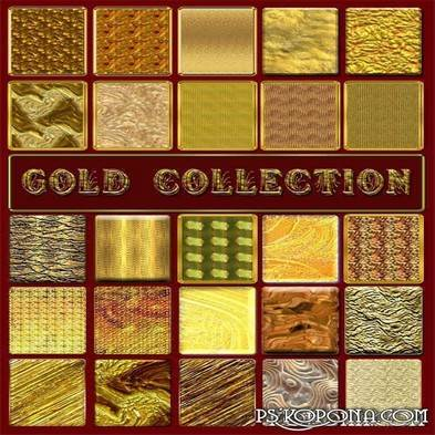 Free Golden collection photoshop styles