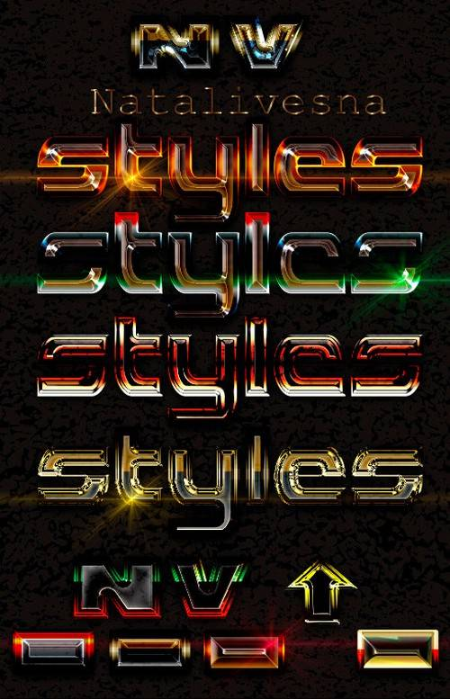 Photoshop Styles for Design in the Photoshop