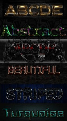 Text Photoshop variety Styles - 55