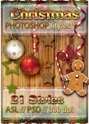 Christmas Photoshop Styles