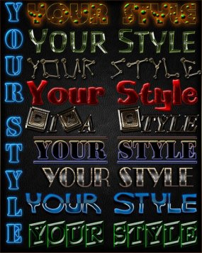 Your style - styles for Photoshop