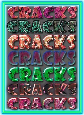 Styles for Photoshop with cracks