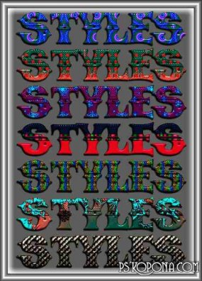 Photoshop Styles from Gala3D 19