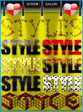 Photoshop Styles from Gala3D 20