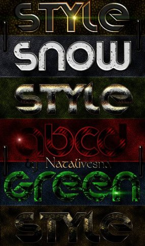 Styles for Photoshop – Variety of Design2